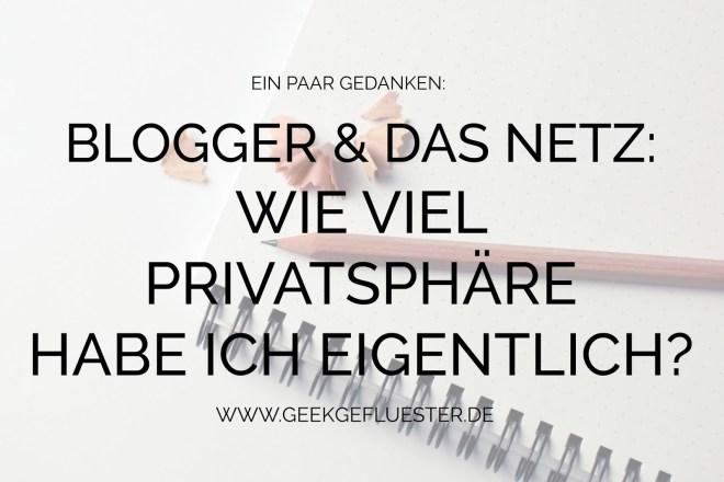Blogger Privatsphäre