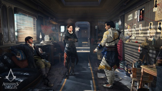 Assassin's Creed Syndicate Zugversteck