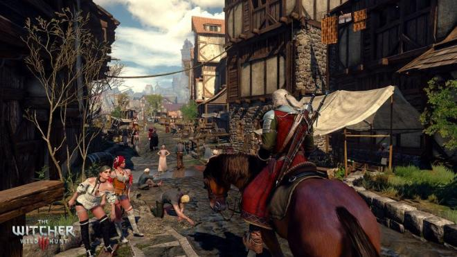 The Witcher 3 Geralt Stadt