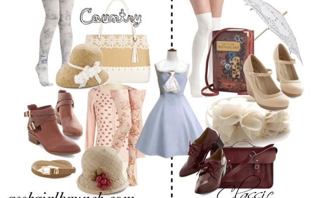 Lolita Coord Challenge: 2 Styles, 2 Ways