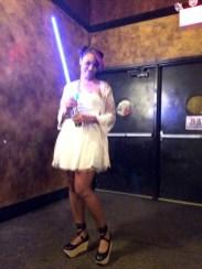 Jamila as (Harajuku) Leia