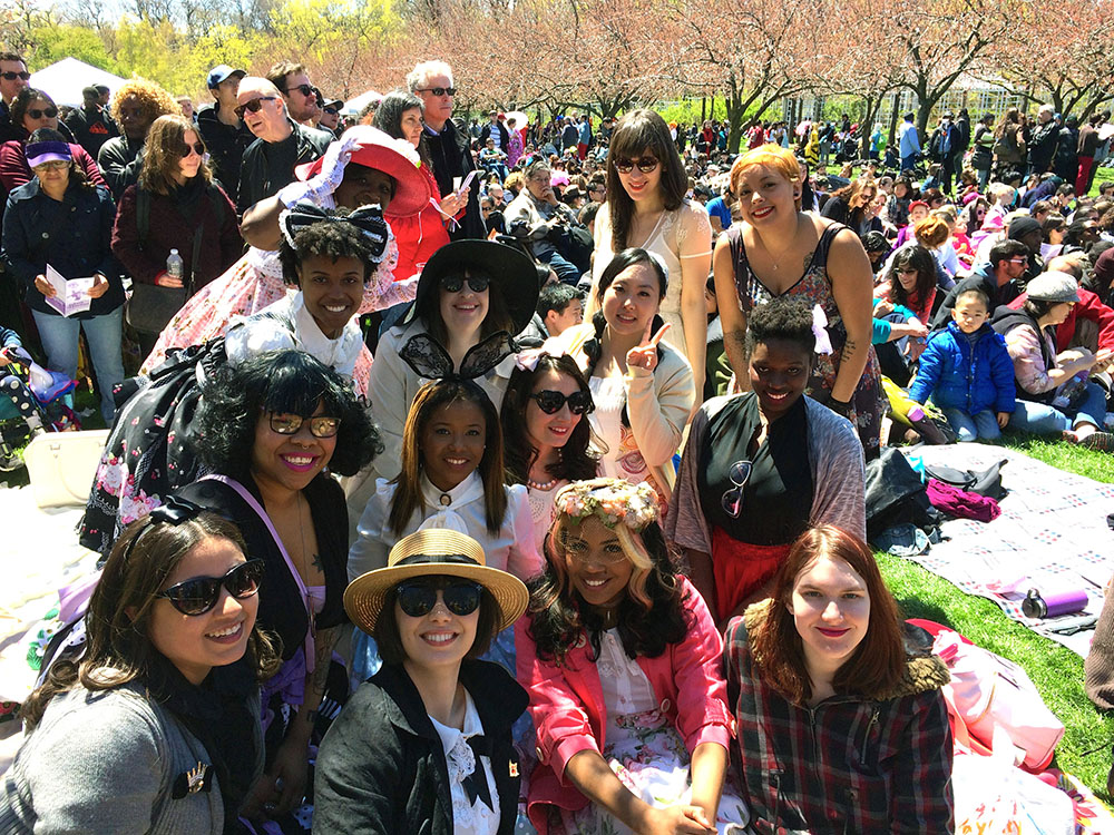 GGBNYC- Lolita Brunch at Brooklyn Botanic Gardens