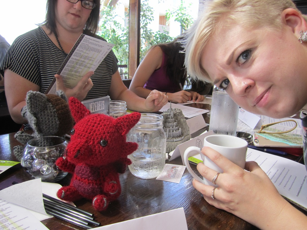 Kristi is skeptical of Daenerys' dragon