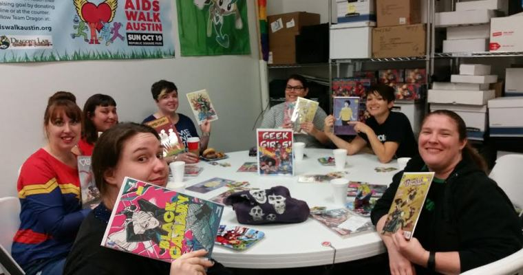 GGB Austin –  Comics and Donuts