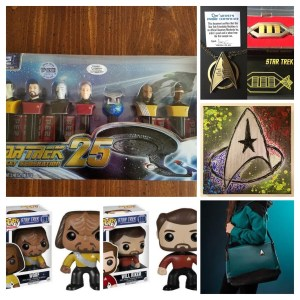 A wide range of Star Trek swag!