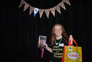 Winner of HPB bag & extra book!