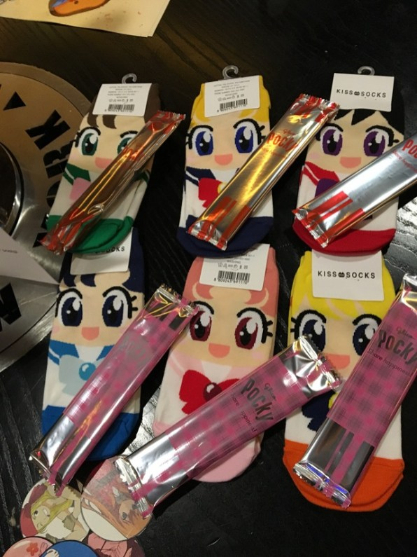 All the Sailor Scouts with pocky!