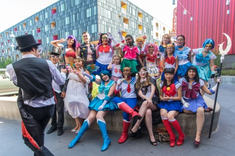 International Sailor Moon Day at The Highball on Saturday, August 6, 2016. Erika Rich for POMEgranate Magazine