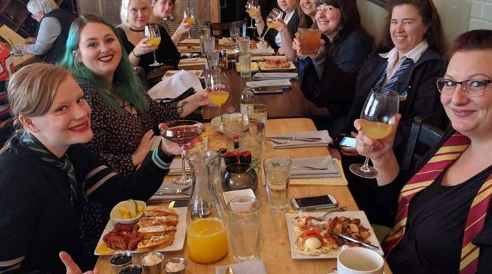 Wizarding Brunch of Geek Girls Tyler at Cork – Accio Mimosas!
