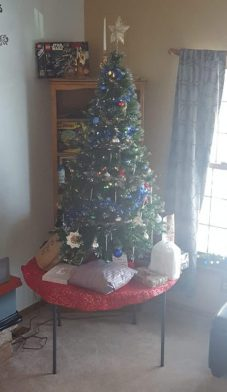 All the presents and the Saran Wrap Ball