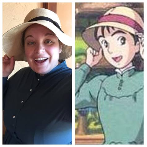 Allison as Sophie from Howl's Moving Castle