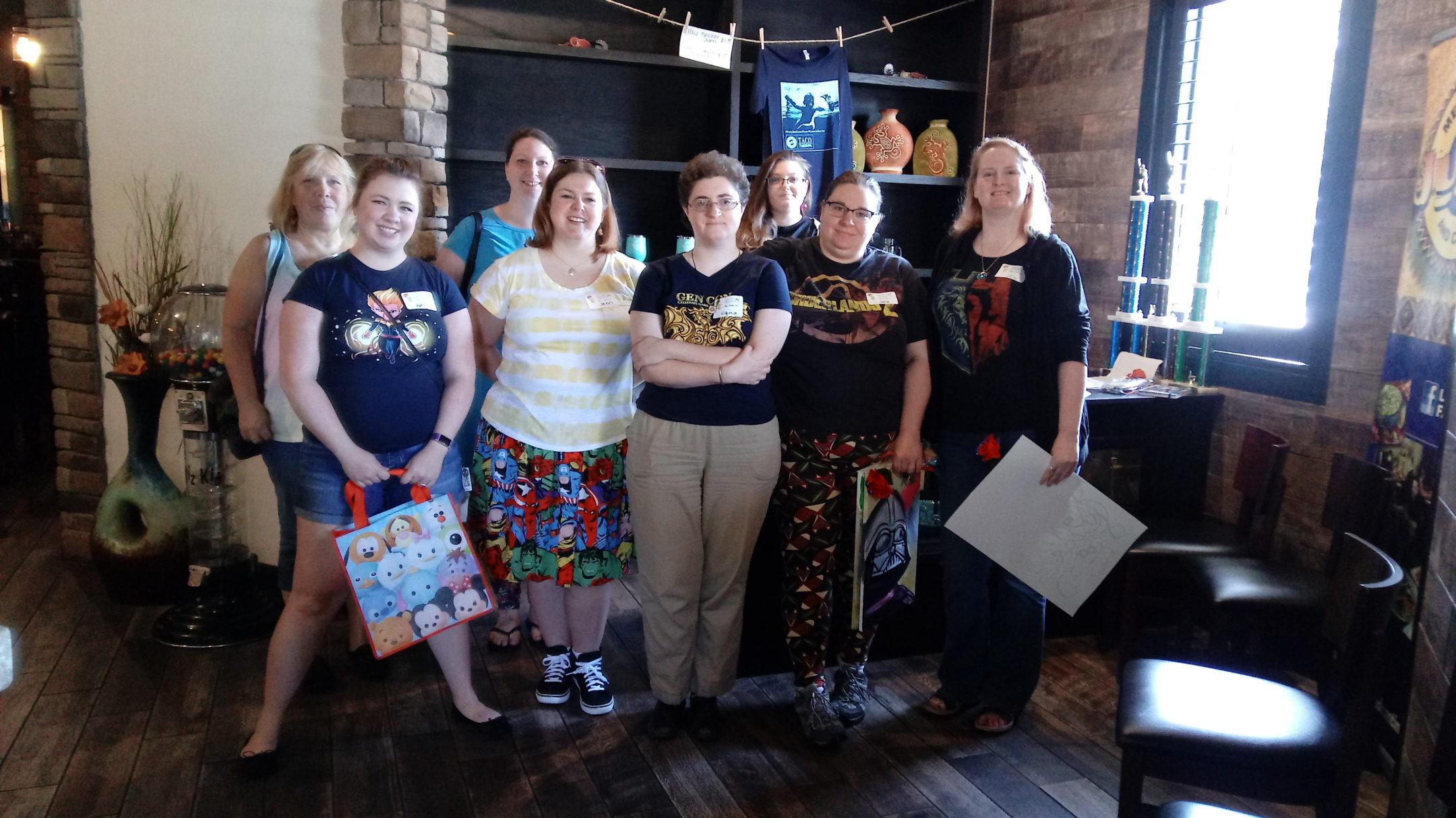 Geek Girl Brunch Newport News Launch & Fandom Mash-up Brunch!