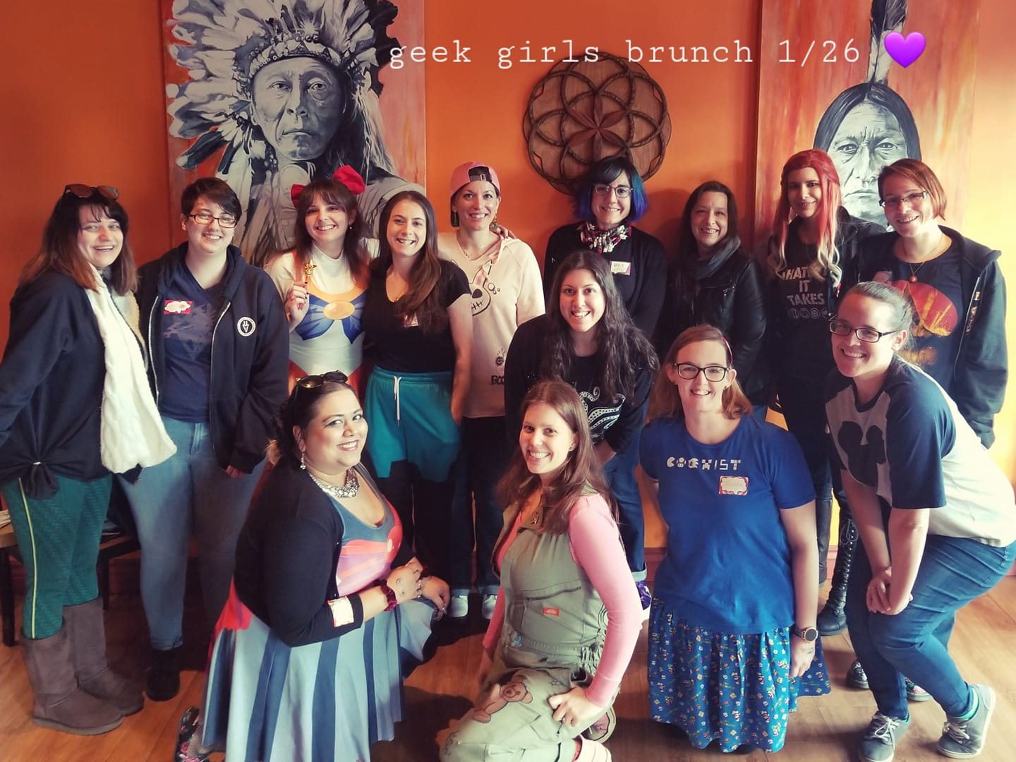 GGB Suffolk Chapter's Inaugural Brunch: Rep your Fandom