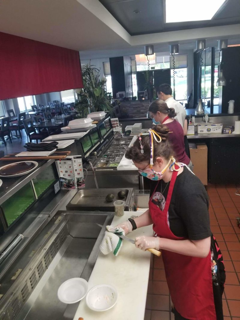 GGB Raleigh Durham– Anime Brunch and Sushi Making
