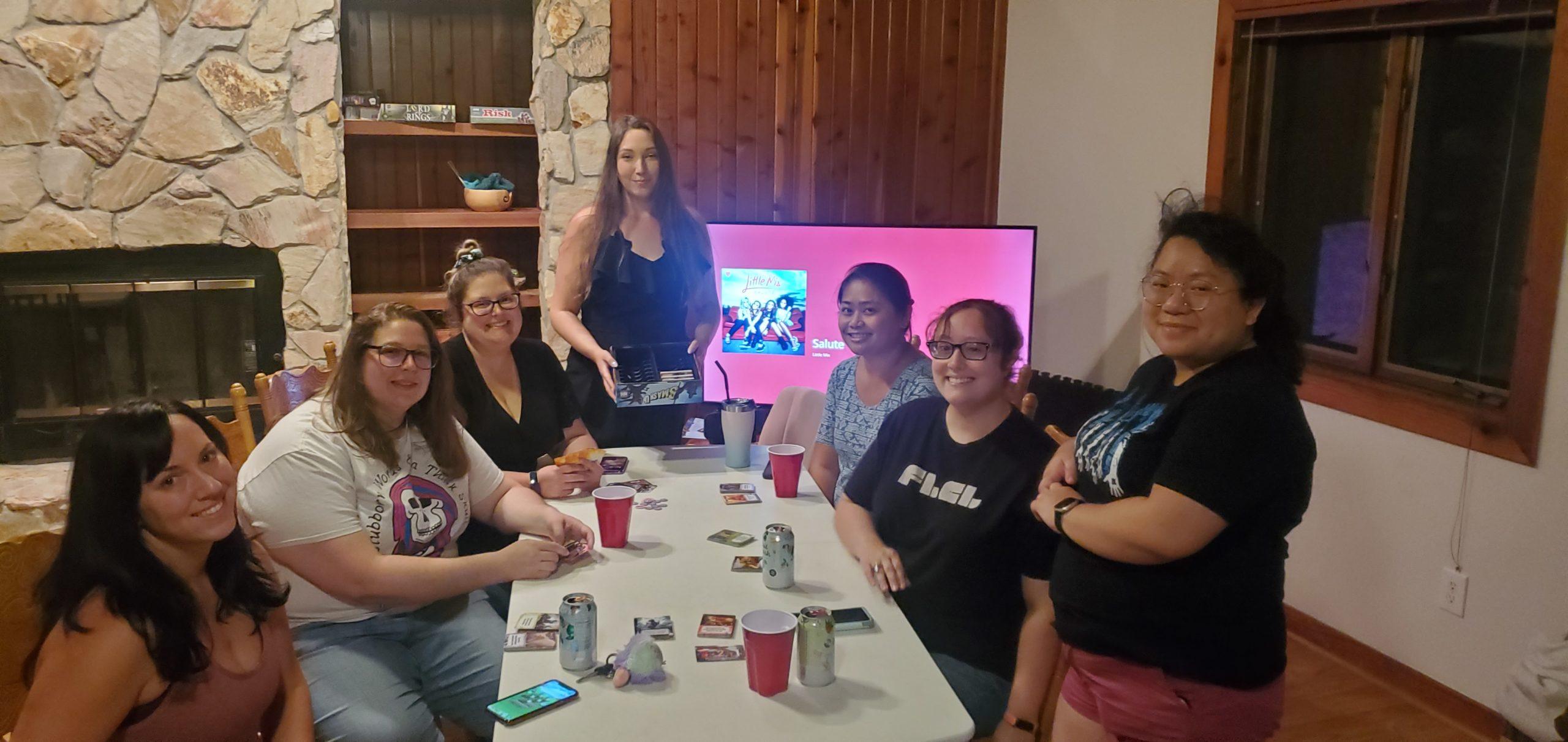 Geek Girl Brunch Gainesville's Game Night 1.0