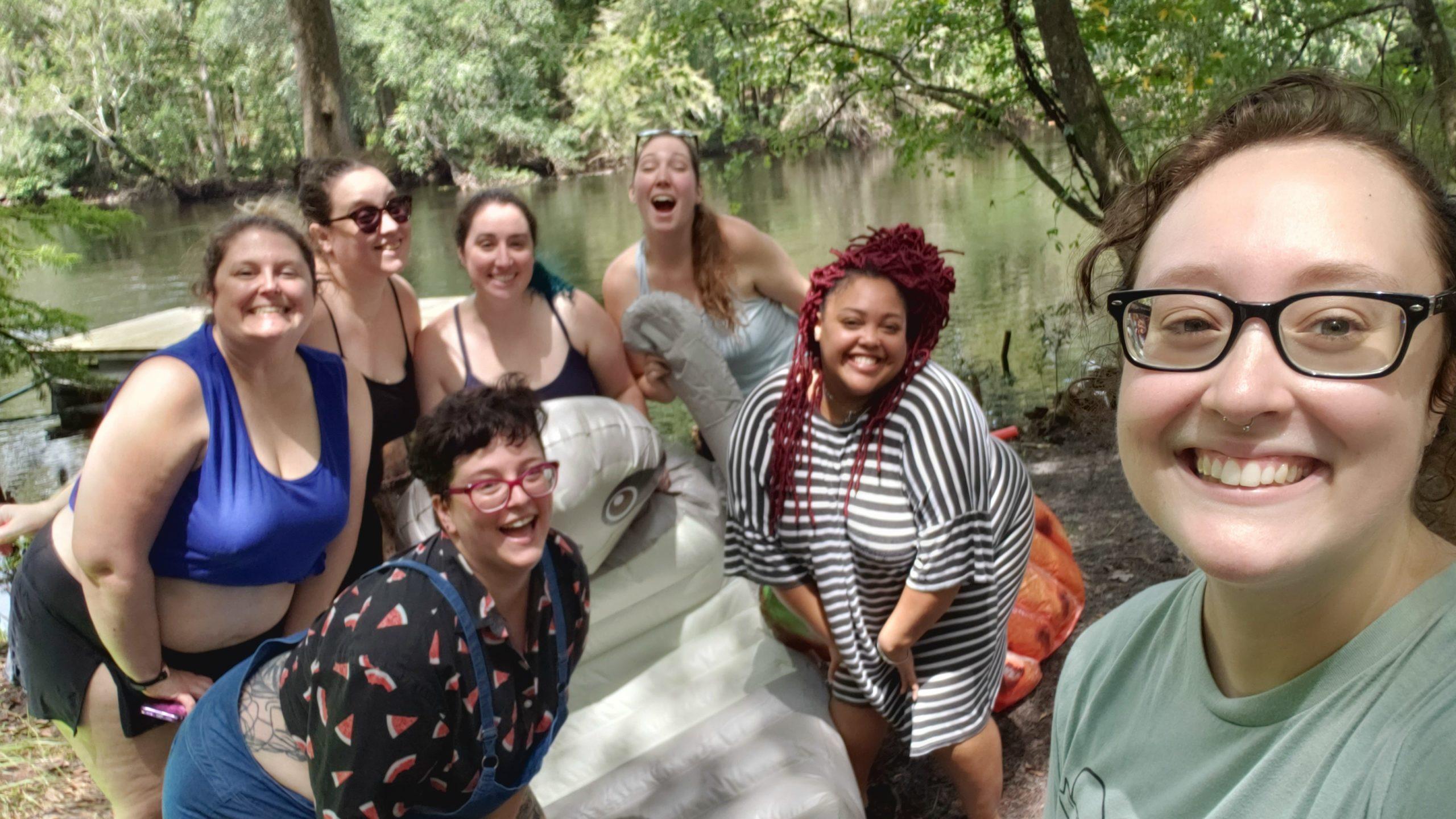 Geek Girl Brunch Gainesville at Warbler's Ecocamp