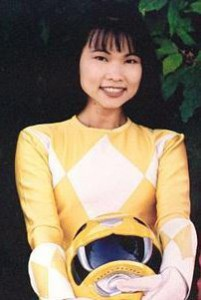 Thuy Trang as Trini, the Yellow Power Ranger
