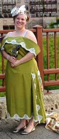 Tablecloth Wedding Dress