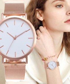 Gold Luxury Watch Women | Ladies Casual Watch