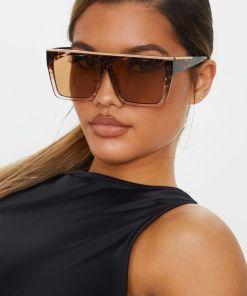 Oversized Square Sunglasses | Large Tortoise Aviators Sunglasses