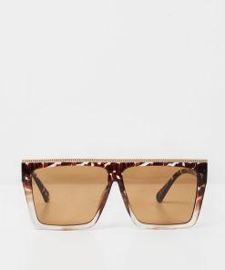 Oversized Square Sunglasses | Large Tortoise