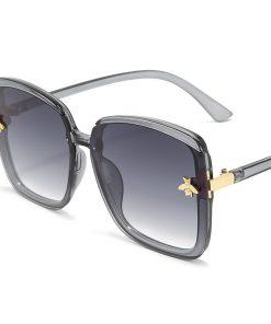 Titanium Aviator Oversized Designer Sunglasses Butterfly