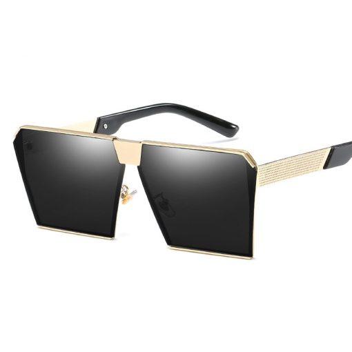 Retro Square Frame Sunglasses Goggle Driving Glasses