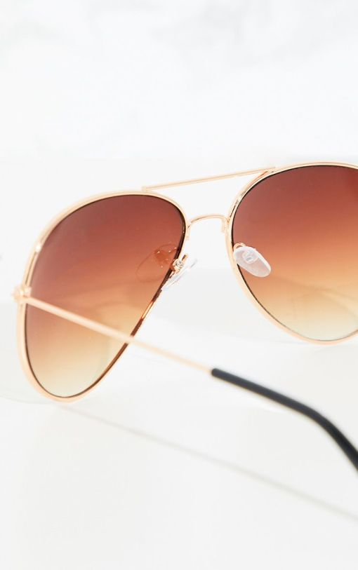 Brown Gradient Round Clubmaster Sunglasses WomensClw9380 4