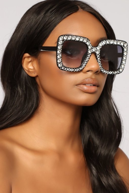 Gold Rhinestone Cat Eye Sunglasses Women Shades Sun Glasses Men Vintage Metal Clear Eyewear UV400 Sunglass