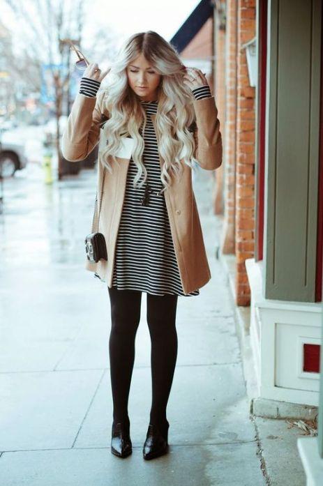 Winter Dress With Leggings