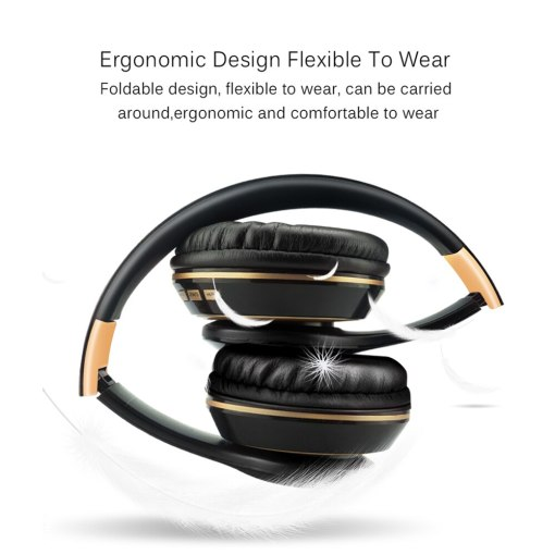 Bluetooth Headphone 5.0 3D Stereo Wireless Headphones with Mic Foldable Headset Wireless Earphone with TF card