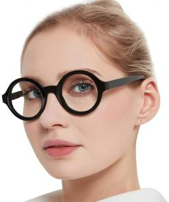 Reading Glasses Women Clear Lens Round Eyeglasses Blue Light Glasses Optical Spectacle With Diopter 0 to+6.0 oculos redondo MA