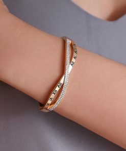 Stainless Steel Cuban Link Bangle