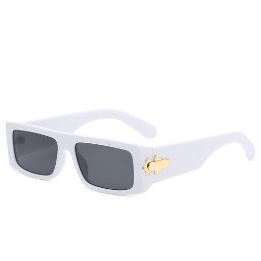 Small Rectangle Sunglasses Men Women Square Sun Glasses Luxury Brand Travel Shades Vintage Retro UV400 Lunette De Soleil Femme