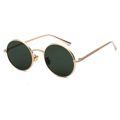 OEC CPO Classic Men Round Sunglasses Women Metal Frame UV400 Sun Glasses Men's Female Fashion Eyewear O90