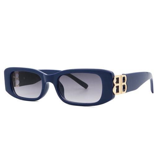 2021 Small Rectangle Sunglasses Women Vintage Brand Designer Square Men Sun Glasses Shades Female UV400 Oculos Lunette De Soleil