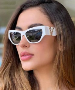 Cat Eye Sunglasses Women Fashion New Vintage Square Shades Men Brand Designer Luxury Sun Glasses UV400 Oversized Eyewear Oculos