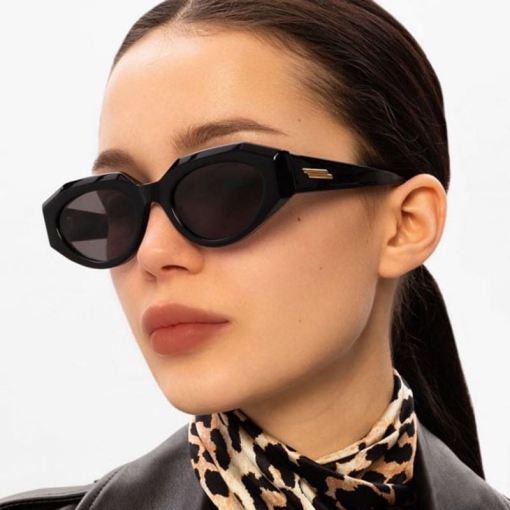 Vintage Luxury Oval Round Retro Sunglasses
