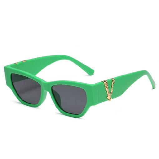 Cat Eye Sunglasses Women Fashion New Vintage Square Shades Men Brand Designer Luxury Sun Glasses UV400 Oversized Eyewear Oculos
