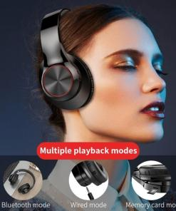 Bluetooth Headphones Wireless Gaming Headset Foldable Music Earphones Sports Earburds with Mic for Mobile Phone Pc Laptop Mp3 TV