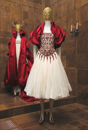 Photo for the New Yorker Magazine, Goings on About Town, installation of the Alexander McQueen exhibition at the Metropolitan Museum, New York, New York, Martine Fougeron, New Yorker, art, fashion