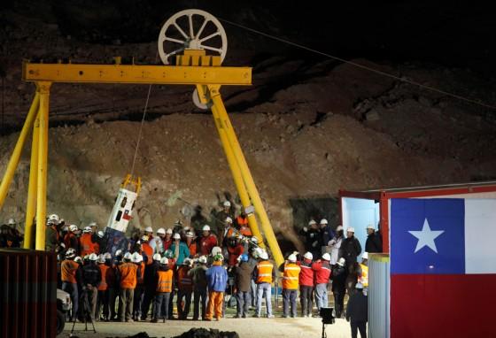 Rescate Mineros en Chile
