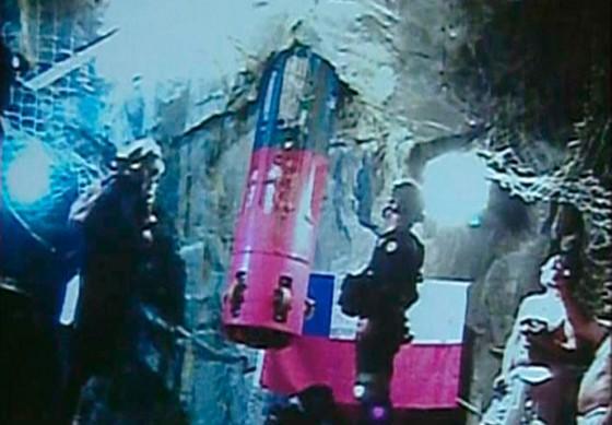 Rescate de Mineros en Chile