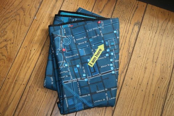 Un mapa en tu Cama