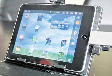 La Tablet Chapina - CybeTech Pad CT 8003