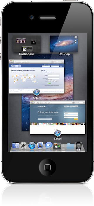 Instalar Mac OS X Lion en un iPhone