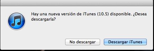 Descarga iTunes 10.5