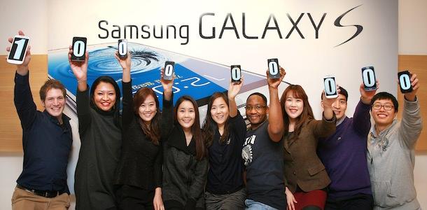100 millones de Samsung Galaxy S