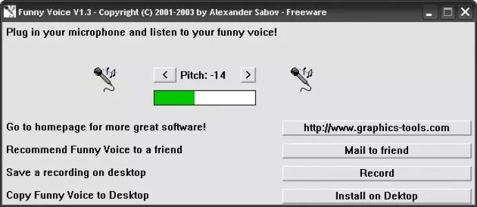 Funny Voice Interface