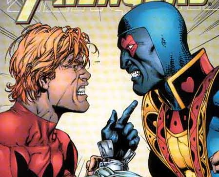 Ant-Man would join the Avengers once again in the early 2000s. He ended up arguing with Jack of Hearts...ALOT!